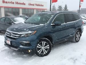 2017 Honda Pilot EX-L Navi LEATHER, HEATED SEATS, SUNROOF!!!