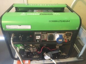 GreenPower 5KVA LPG GAS Generator Kewarra Beach Cairns City Preview