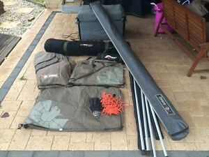 Foxwing awning plus Oztent RV5 tagalong Meadow Springs Mandurah Area Preview