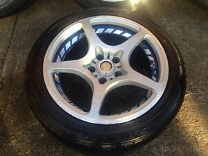 17x10 GENUINE RAYS Volk F-Zero Challenge Forged Wheels Cabramatta West Fairfield Area Preview