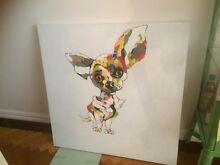 Chihuahua painting South Yarra Stonnington Area Preview