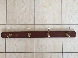 Vintage coat rack (4 hooks) Wembley Downs Stirling Area Preview