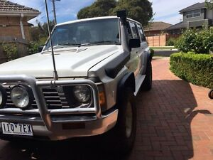 Nissan patrol Gq TD 4.2 turbo Pascoe Vale Moreland Area Preview