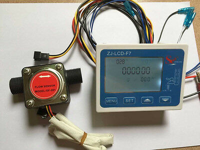 Liquid Fuel Oil Flow meter with 1/2'' diesel gasoline Gear flow sensor NEW