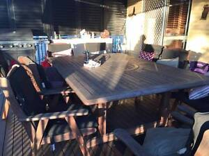 Outdoor table and chair set Banyo Brisbane North East Preview