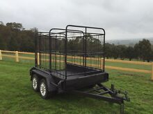 Cattle trailer tandem Lancefield Macedon Ranges Preview