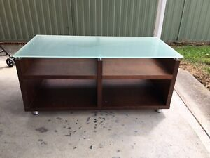 Glass coffee or tv unit Cooranbong Lake Macquarie Area Preview