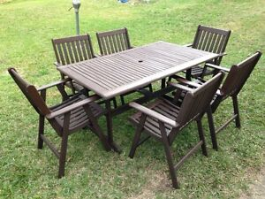 6 Seat Outdoor Setting DELIVERY Highgate Hill Brisbane South West Preview