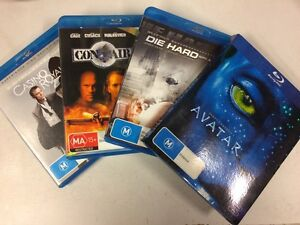 Blurays for sale, all 4 for $10! Dapto Wollongong Area Preview