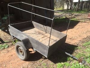 Trailer with frame Myers Flat Bendigo City Preview