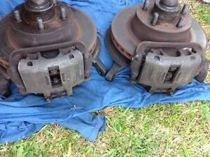 Ford XE girlock alloy calipers, rotors and stub axles Woodridge Logan Area Preview
