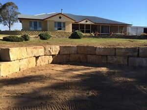 Sandstone retaining walls Caboolture Caboolture Area Preview