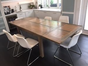 Dining Table and 6 chairs Woollahra Eastern Suburbs Preview