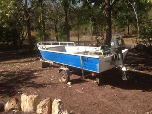3.7 metre boat . Flat bottom good condition. Howard Springs Litchfield Area Preview