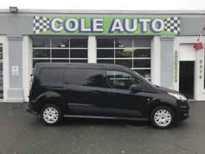 2017 Ford Transit Connect XLT Low kms!  Hard to find Black!