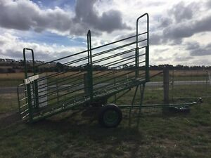 Portable loading ramp cattle / sheep . Moriac Surf Coast Preview
