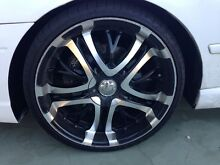 20 inch rims suit BA BF Falcon XR8 XR6 Mount Cotton Redland Area Preview