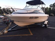 Seafarer boat half cabin with trailer fishing camping Mercury Terrigal Gosford Area Preview