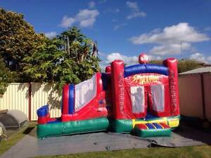 Spiderman Jumping Castle with Slide Grafton Clarence Valley Preview