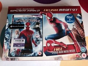 The Amazing Spiderman Spider-Man 2 Dvd Gift Set With Spiderman Mask Uk Version
