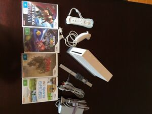 Nintendo Wii+4 games and accessories Parkside Unley Area Preview