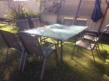 Outdoor Setting large 9 piece Shellharbour Shellharbour Area Preview