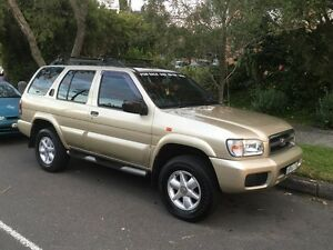 2001 Nissan Pathfinder 4x4 Ti V6 Cremorne North Sydney Area Preview