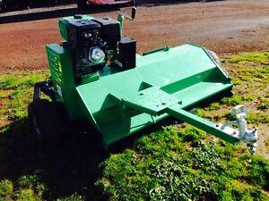FLAIL MOWER TOW BEHIND ATV / tractor 1.5 Metre 15Hp Petrol motor Penshurst Southern Grampians Preview