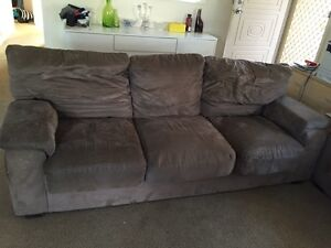 3 Seater Lounge x 2 and poof Little Bay Eastern Suburbs Preview