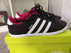 Black & white adidas neos Perth Perth City Area Preview