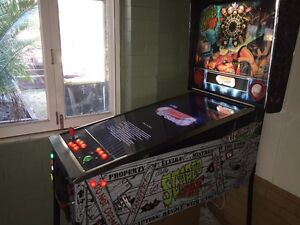 Arcade machine pinball table over 450 table 12000 classic  games Brighton Brisbane North East Preview