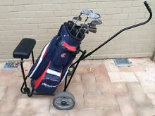 Golf Clubs,Bag and Trolley North Turramurra Ku-ring-gai Area Preview