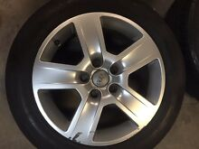 Audi/VW transporter wheels and tyres Mount Cotton Redland Area Preview