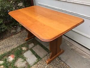 Dining Table - Vintage Pine Farmhouse Style Eastwood Ryde Area Preview