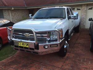 Chevrolet Silverado 2008 crew cab daully 4x4 DURAMAX Glenwood Blacktown Area Preview