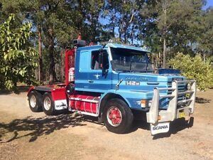 Scania 142m prime mover Frederickton Kempsey Area Preview