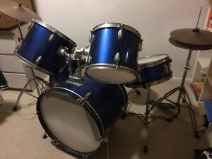 Royal blue drum set Yandina Maroochydore Area Preview