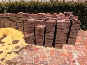 Used patio pavers Kensington South Perth Area Preview