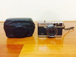 Vintage Olympus 35 EC 35mm Camera with Original Case and Strap Carlton Kogarah Area Preview