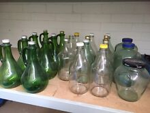 Glass Flagon Bottles and Jars Morley Bayswater Area Preview