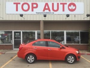 2013 Chevrolet Sonic LT Auto Low monthly payments! Clean clean