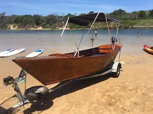 Boat timber classic Tumbulgum Tweed Heads Area Preview