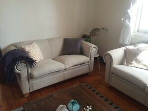 2 x 2 seater lounges Woollahra Eastern Suburbs Preview