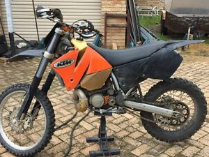 Ktm 200 exc Wilson Canning Area Preview