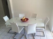 Dining Glass Table and chairs Durack Brisbane South West Preview