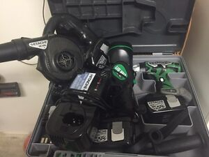 Hitachi 18v drill kit DS18DL With Extras Mountain Creek Maroochydore Area Preview