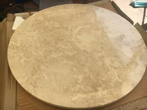 Marble Lazy Susan Kiara Swan Area Preview
