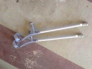 Pair of crutches Golden Beach Caloundra Area Preview