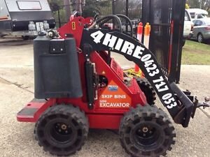 Dingo Mini Digger 4 HIRE St Marys Penrith Area Preview