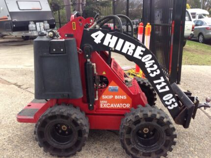 Dingo Mini Digger 4 HIRE